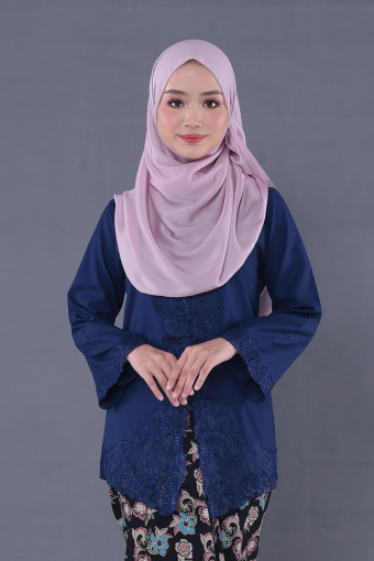 Kebaya Teja - Blueberry (Top Only)